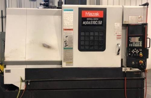 Mazak Vertical Center Nexus 510c Vertical Machining Centers